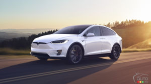 Tesla Recalling 15,036 2016 Model X SUVs Over Power Steering Issue