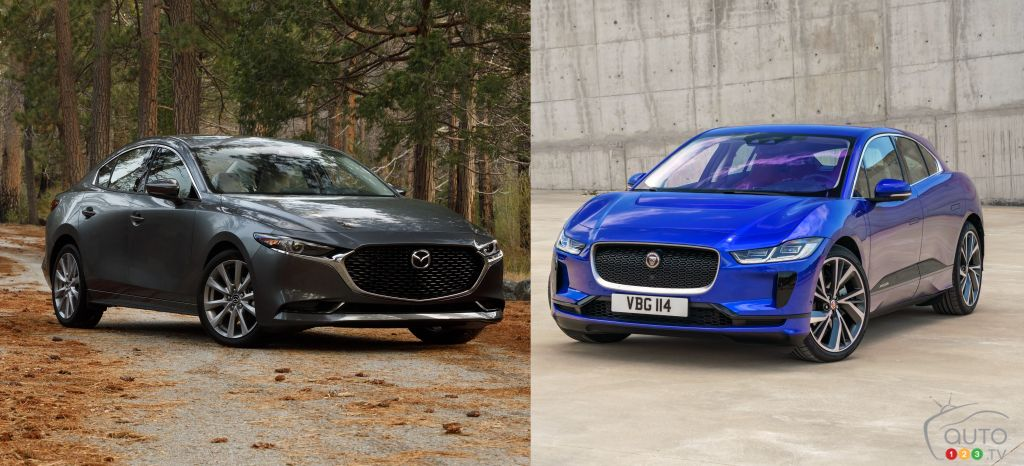 Mazda3, Jaguar I-Pace Named 2020 Car, SUV of the Year by AJAC