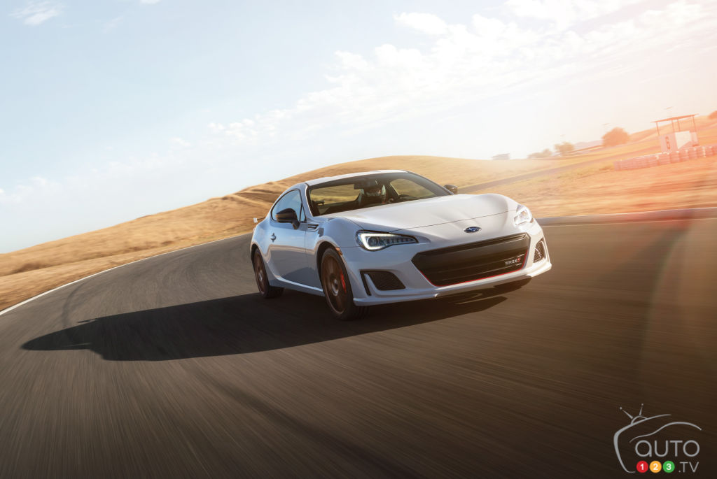 Toronto 2020: Subaru presents tS version of its BRZ