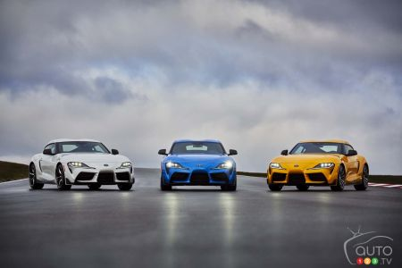 A 4-cylinder Turbo and More-Powerful 6-cylinder for the 2021 Toyota Supra