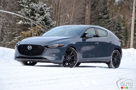 2019 Mazda3 AWD Review in Winter: One step forward, one (blind) step back