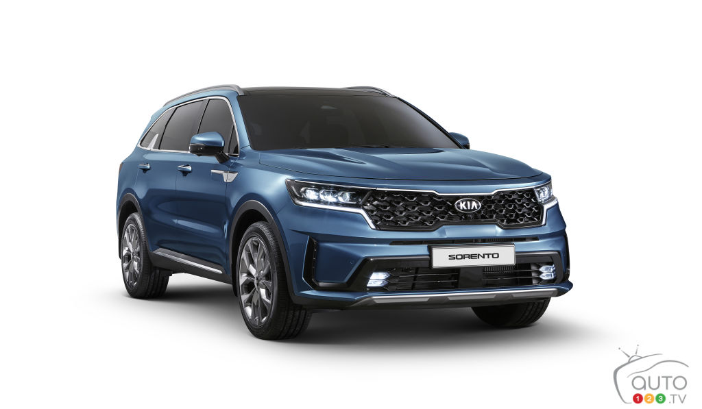 Kia Reveals 2021 Sorento Ahead of Geneva Debut