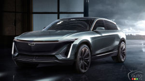 Cadillac Will Unveil Electric Midsize Crossover This April