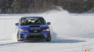 Subaru Winter Experience 2020: The Art of Waltzing on a Frozen Lake