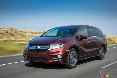 Honda Recalling 2018-2020 Odysseys Over Short-Circuit Fire Risk