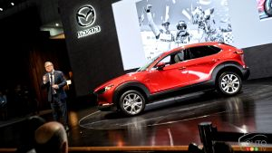 2020 Mazda CX-30, at the 2019 Los Angeles Auto Show