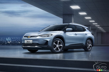 Chevrolet Finally Launches Menlo... in China