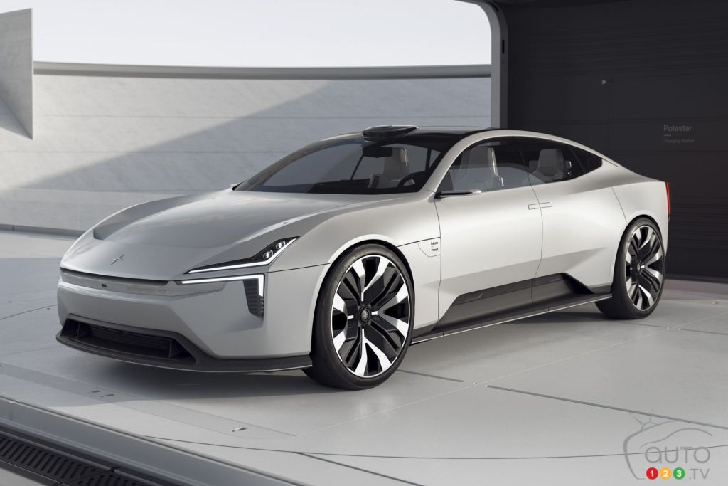 Polestar Precept Delivers a Vision of the Brand's Future