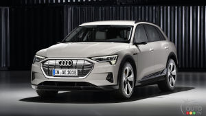 Audi Temporarily Halts Production of its e-tron Model