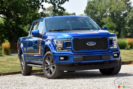 Ford Recalling 217,000 F-150s Over Headlamps Issue