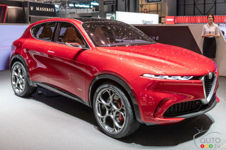 Production of the Alfa Romeo Tonale to Begin in 2021