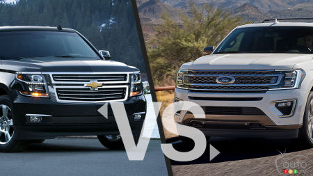 Comparaison : Chevrolet Suburban 2020 vs Ford Expedition 2020
