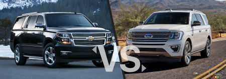 Comparison: 2020 Chevrolet Suburban vs 2020 Ford Expedition