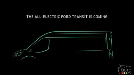 Ford Will Bring the Electric Transit Van to Canada and the U.S.