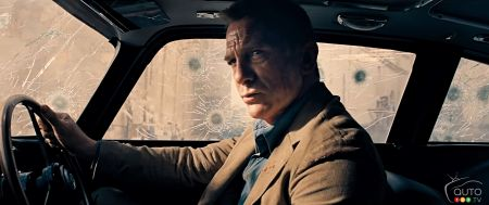James Bond Waylaid by Coronavirus