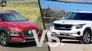Comparison: 2020 Hyundai Kona vs 2021 Kia Seltos