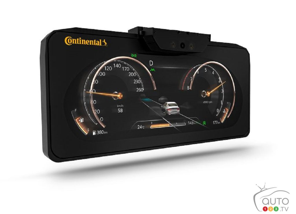 Continental's Impressive 3D Digital Cluster for the Genesis GV80