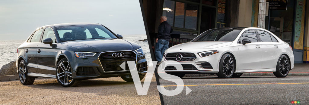 Comparison: 2020 Audi A3 vs 2020 Mercedes Benz A-Class