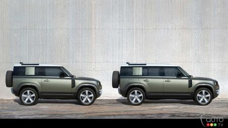 Coronavirus: Land Rover Sends its New Defender into Battle