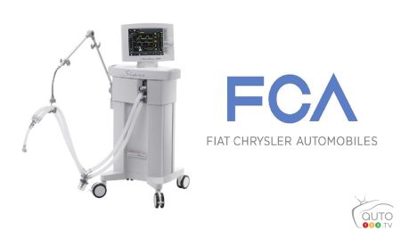 FCA Producing Ventilator Parts for Use in Italy