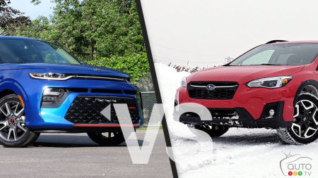 Comparison: 2020 Kia Soul vs 2020 Subaru Crosstrek