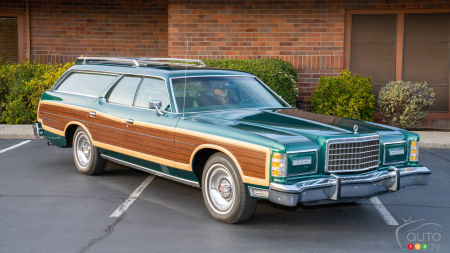 This Old Ford Wagon Sold Recently for $45,000 USD