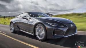 Upgrades for the 2021 Lexus LC 500