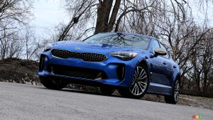 More power for the 2021 Kia Stinger