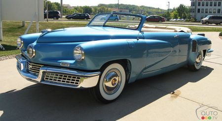 A 1948 Tucker Convertible Is Available on eBay