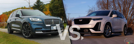 Comparaison : Cadillac XT6 2020 vs Lincoln Aviator 2020