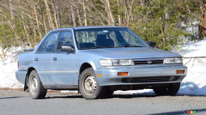 1992 Nissan Stanza Review: Desperate Times, Desperate Measure
