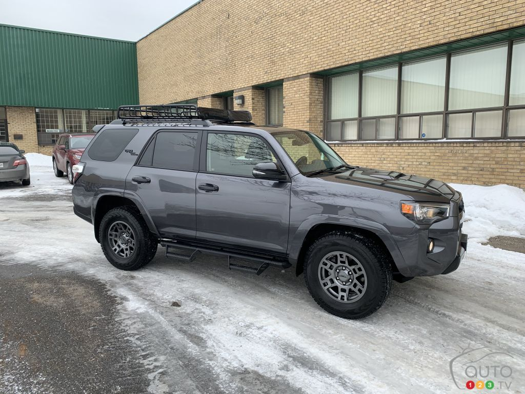 2020 Toyota 4runner Review Car Reviews Auto123