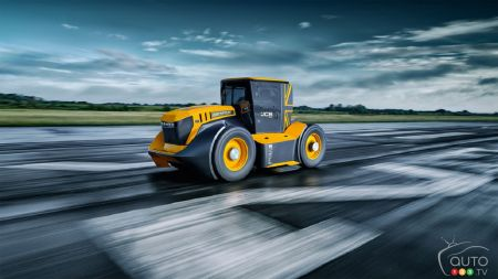 Meet the World's Fastest Tractor