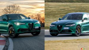 Alfa Romeo's Giulia and Stelvio Quadrifoglio Models Upgraded for 2020