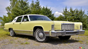 The 1975 Lincoln Town Car Continental: Social Distancing Made Easy