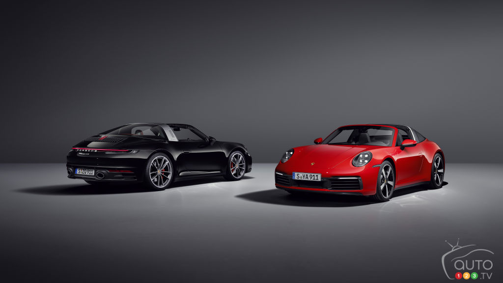 Porsche 911 Targa Versions Make Their Entrance