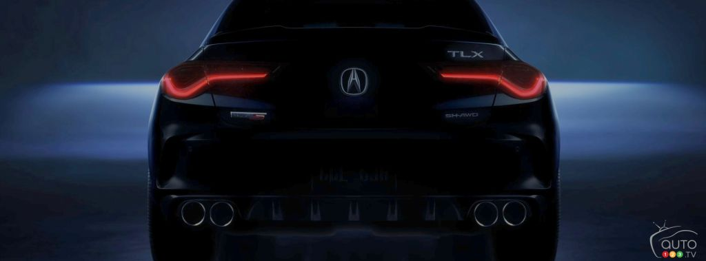 Acura Teases Second-Generation 2021 TLX
