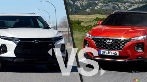 Comparison: 2020 Chevrolet Blazer vs 2020 Hyundai Santa Fe