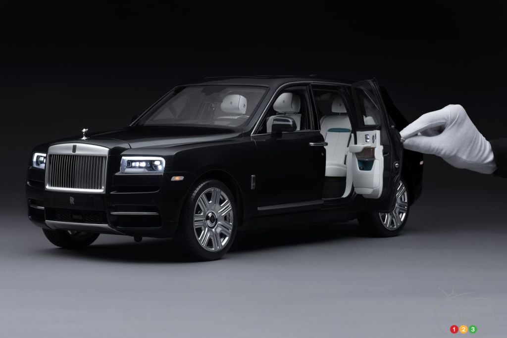 Own a scale replica of the Rolls-Royce Cullinan   Car News