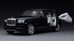Scale model of the Rolls-Royce Cullinan