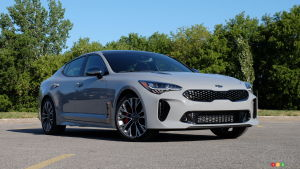 An electric future for the Kia Stinger?