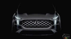 Hyundai Shows Bit of its Reworked Santa Fe… Destined for Europe
