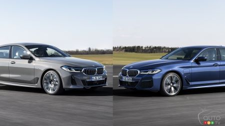 BMW Presents Next-Gen 2021 5 Series and 6 Series Online