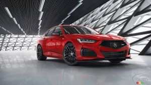 Acura Lifts Veil Fully on New 2021 Acura TLX