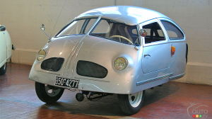 1951 Hoffman, three-wheeled car