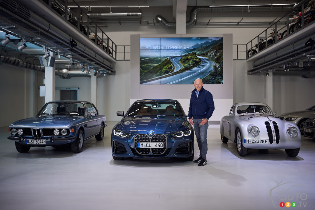 Calandres XXL pour la BMW Série 4