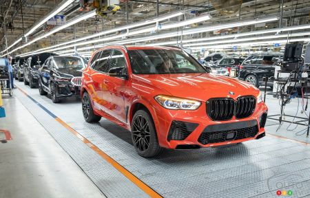 Five Million Vehicles Built at BMW's Spartanburg Plant