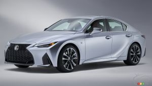 The 2021 Lexus IS Makes Its Debut… Online