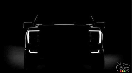 Ford Teases First Image of Upcoming 2021 F-150