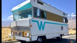Take a Road Trip Back in Time with this 1968 Winnebago